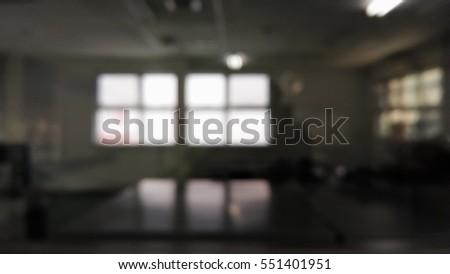Light from a window in a dark room #551401951