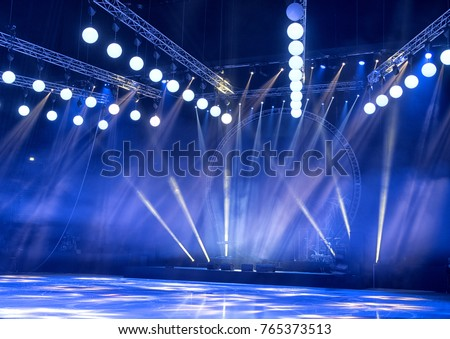 Light from the scene, a rock concert #765373513