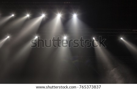 Light from the scene, a rock concert #765373837