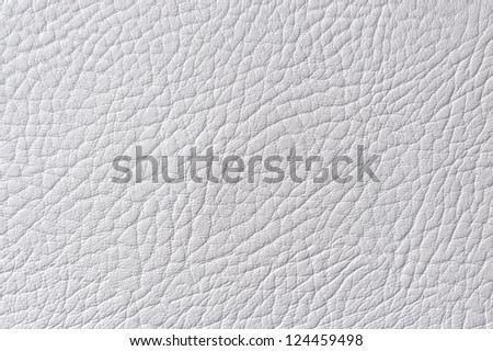 Light Gray Artificial Leather Texture
