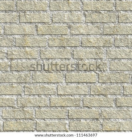 Light gray brick wall  background