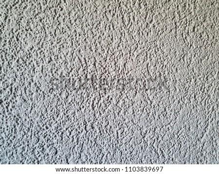 Light gray skim coat cement wall texture, background #1103839697
