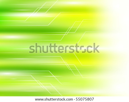 light green abstract background with concept of speed