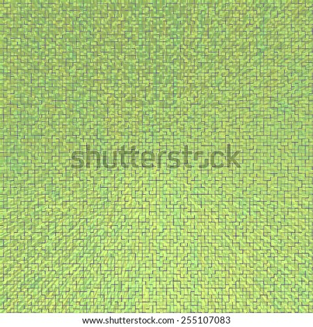 Light green abstract background with mosaic pattern. Abstract modern background with mosaic geometric abstract pattern. Abstract grunge abstract green background, pattern design.