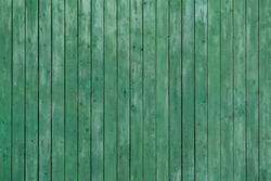 Light green painted wood wall
