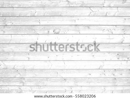 Light grey white wooden background with rustic natural planks