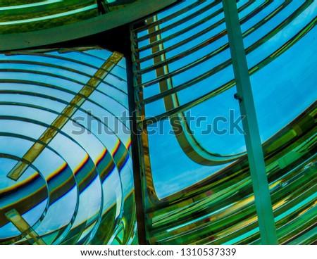 Light House Fresnel Lens #1310537339