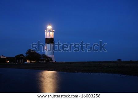 Light house, Sweden - stock photo