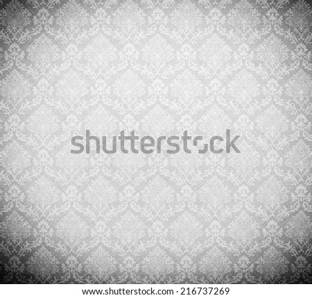 light image of baroque pattern.