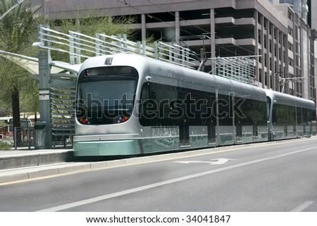 Light Metro Rail Train, Phoenix, Arizona