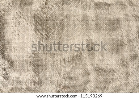 light natural linen texture of canvas for the background