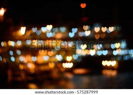 Light of heart shape #575287999
