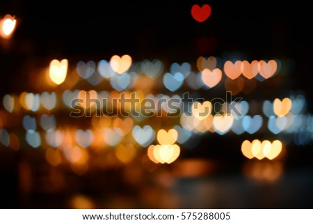Light of heart shape #575288005