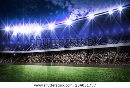 light of stadium #234831739