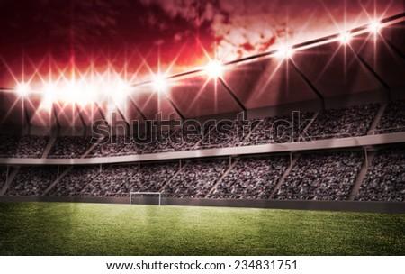 light of stadium #234831751