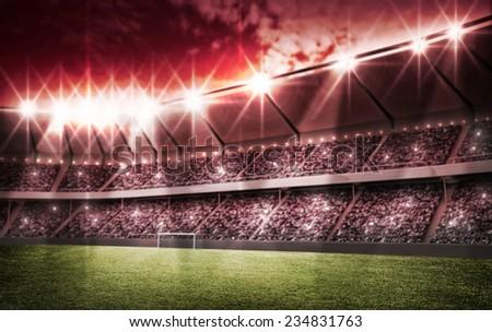 light of stadium #234831763
