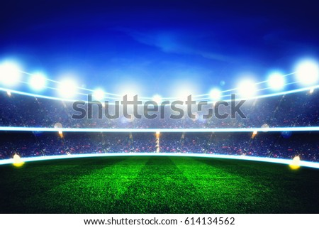 light of stadium #614134562