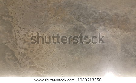 Light on polished cement , beautiful texture glossy