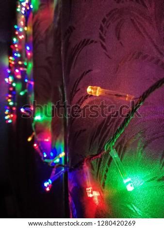 Light on the eve of Christmas #1280420269