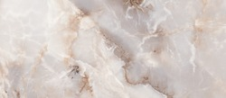 Light Onyx Marble Texture Background, High Resolution Italian Smooth Onyx Marble Stone For Abstract Interior Home Decoration Used Ceramic Wall Tiles And Floor Tiles Surface Background.