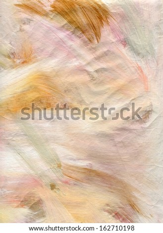 Light Painted 1, abstract painted texture in light neutral colors suitable for use as a background