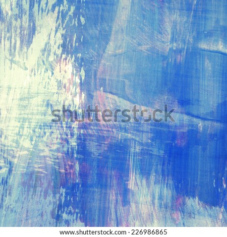 Light painted abstract watercolor background