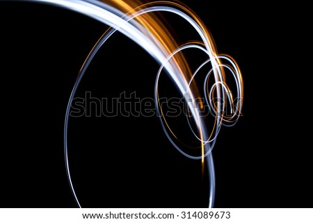 light painting abstract background