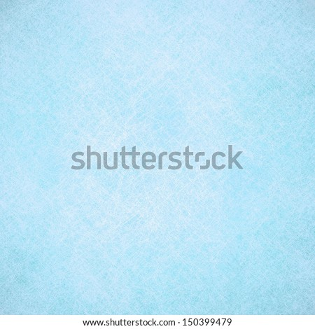 light pale frosty blue background pastel color design with delicate white sponge texture, cold winter concept background for December ideas or scrapbook