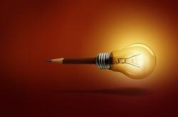 Light, pastel, brown background glow good idea.