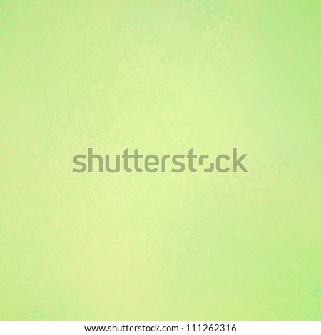 light pastel green background with pale yellow vintage grunge background texture, abstract background for elegant Easter or Christmas background or web template