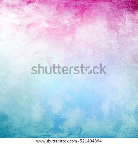 Light pink and blue frame background