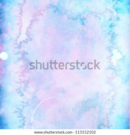 light pink blue grunge background paper texture