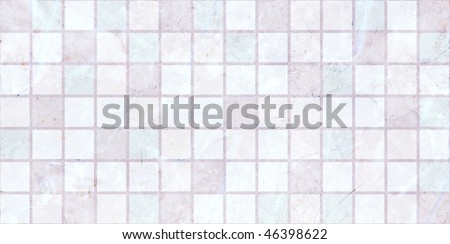 light pink Ceramic tiles a mosaic