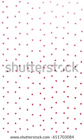 Light Pink, Red geometric simple minimalistic background, which consist of triangles on white background. Triangular pattern with gradient for your business design.  #651703084