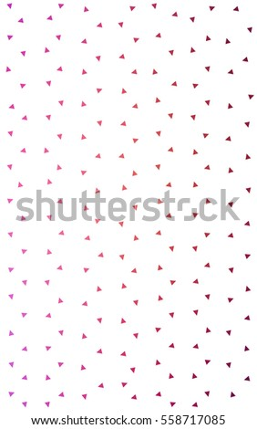 Light Pink Yellow geometric simple minimalistic background, which consist of triangles on white background. Triangular pattern with gradient for your business design.  #558717085
