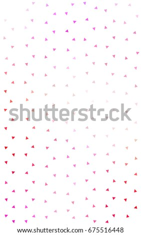 Light Pink, Yellow geometric simple minimalistic background, which consist of triangles on white background. Triangular pattern with gradient for your business design.  #675516448