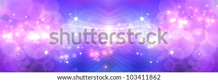 Light Purple Star abstract background