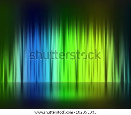 Light Stage Background - stock photo