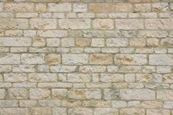 Light stone brick wall texture