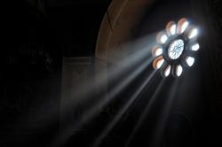 Light Stream through Window