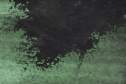 Light Subdued Green Rustic Grungy Chipped Paint Texture for Design