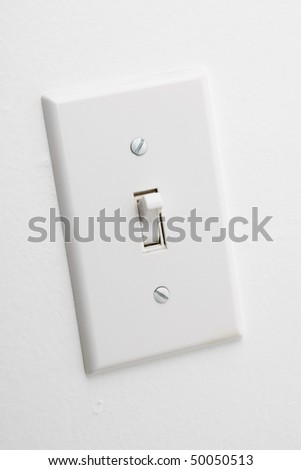 Light Switch close up shot