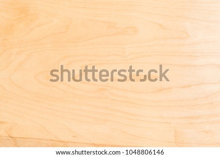 Light texture of birch plywood, close-up abstract background
