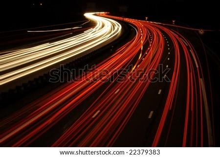 Light Trails of car-2