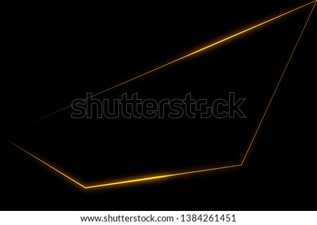 Light triangle abstract. Glow effect. Glowing lines. Shining neon triangle. Glowing triangle dark background. Beautiful glowing triangle. Frame glowing.