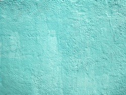 Light turquoise wall texture for background