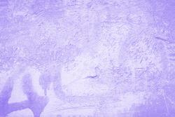 Light violet texture background, purple violet wall with paint spots