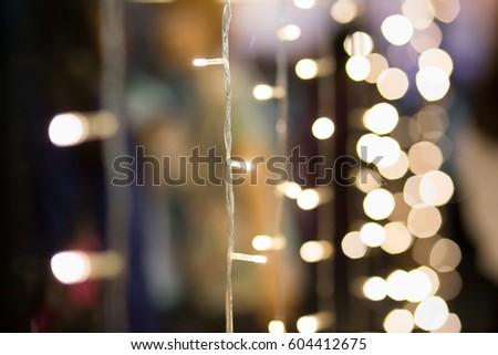 Light with blur light background #604412675