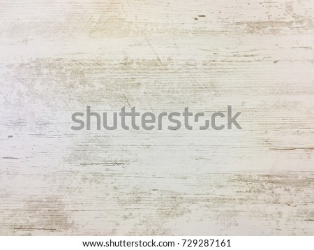 Light wood texture background surface with old natural pattern or old wood texture table top view. White surface with wood texture background. Organic timber texture background. Rustic table top view.