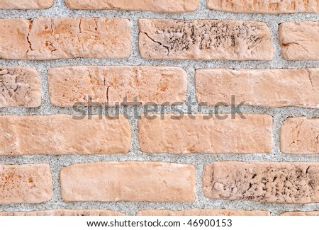 Light Yellow Brick Stone Exterior And Interior Decoration Building Material For Wall Finishing